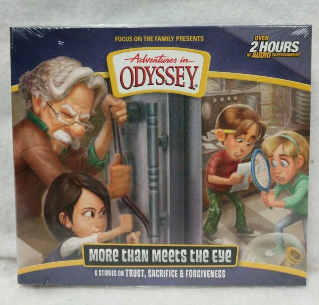 NEW More than Meets the Eye Adventures in Odyssey Album 67 Volume Audio CD