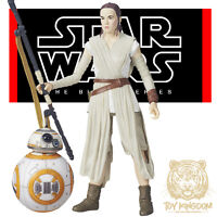 Rey & Bb-8 - Star Wars Black Series 6 The Force Awakens/rogue One - In Hand