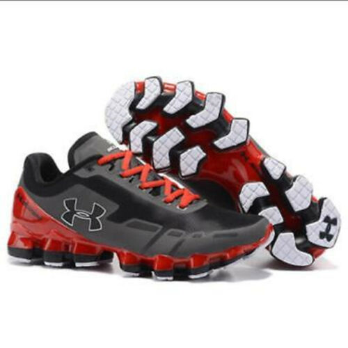 New 2019 Men/'s Under Armour Mens UA Scorpio Running Shoe Red+Gray Leisure Shoes