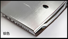 Silver Brushed Aluminum Skin Cover Guard for Dell XPS 9550