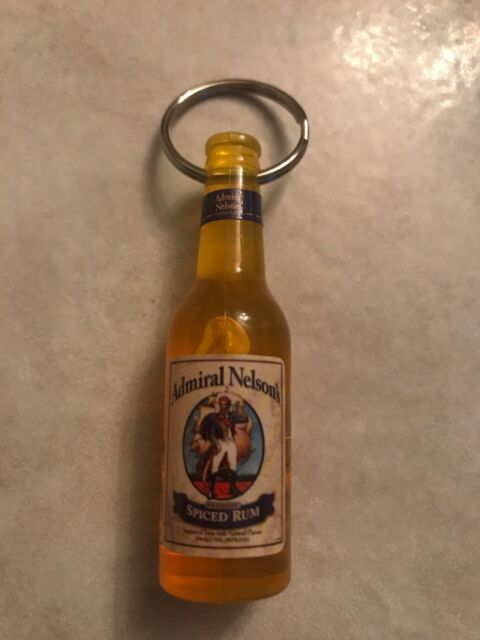 SAILOR JERRY SPICED RUM ~ OFFICIAL ~ Hula Girl Bottle Opener Keychain ~ TATTOO