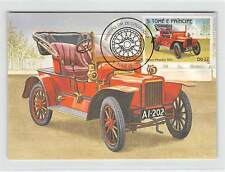 S. TOME MK AUTOS OLDTIMER ROVER PHAETON AUTO CARS CARTE MAXIMUM CARD MC CM m251