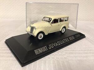 1-43-Renault-Juvaquatre-Break-Geschenk-Modellauto-Modelcar-Scale-Spielzeug-Rar