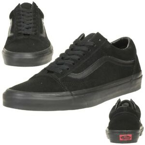 Details about Vans Old Skool Suede Classic Trainers Shoes Classic vn0a38g1nri Black Leather show original title