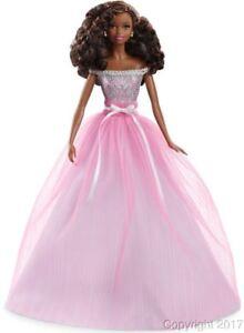 Das Bild Wird Geladen 2017 Birthday Wishes Barbie African American Puppe Dvp50