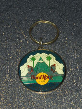 Vintage Hard Rock Cafe HRC Keychain Key Chain Ring Myrtle Beach Pyramid
