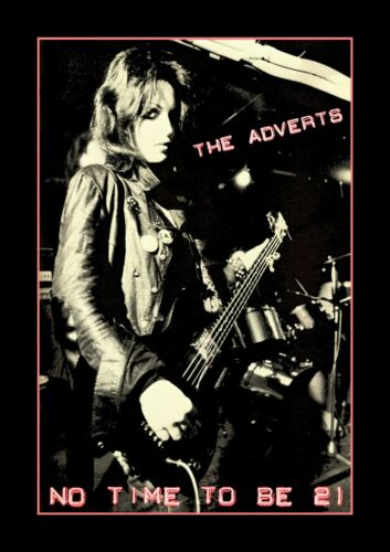 ROCK 1977 THE ADVERTS PUNK NO TIME TO BE 21 GREETING CARD BIRTHDAY