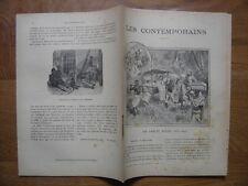 1898 LES CONTEMPORAINS sir Samuel Baker