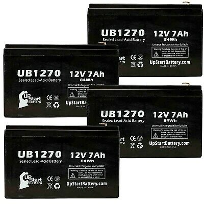 Mighty Max Battery 12V 7.2AH SLA Battery for Liebert GXT1500RT UPS 8 Pack Brand Product