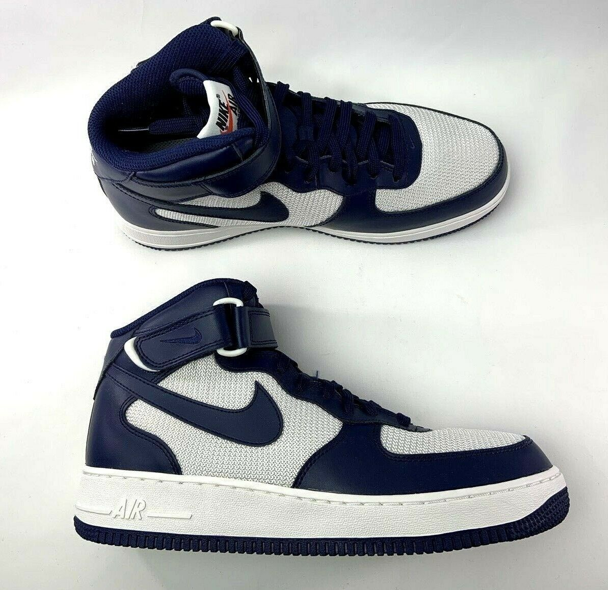 White blueee Binary 07 Mid 1 Force Air Nike color shoes NEW