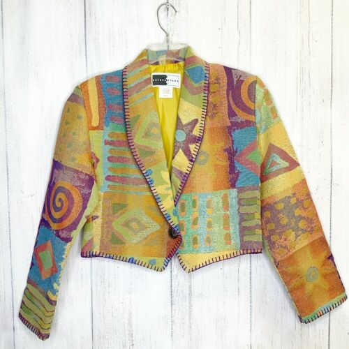 Sz Med Vintage Rhonda Stark Jacket Blazer Southwes
