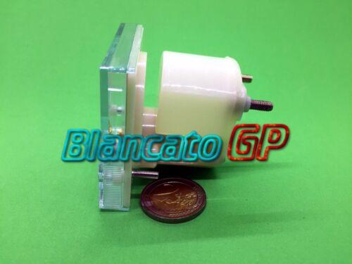AMPEROMETRO ANALOGICO da PANNELLO 0-5A DC 56x64 classe 2.5 batteria alimentatore