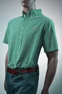 Ralph Lauren Classic Fit Purple /& White Check Long Sleeve Shirt// Pony-NWT