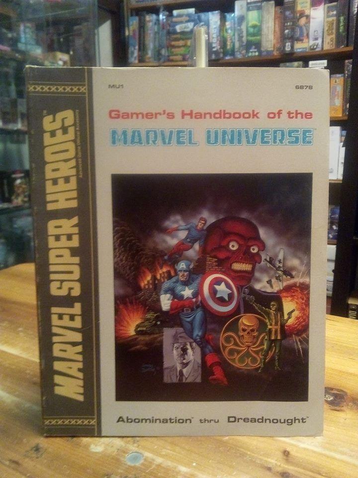 TSR MU1 Gamer's Handbook of the Marvel Universe Abomination thru Dreadnought