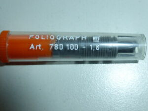 5 Original Zeichenkegel rOtring rapidograph  F 0,35 mm NEU//OVP