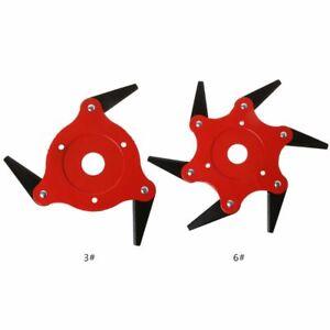 Blade-Manganese-Steel-Razor-Mower-Trimmer-Head-Cutter-Blade-For-Garden-Lawn-New