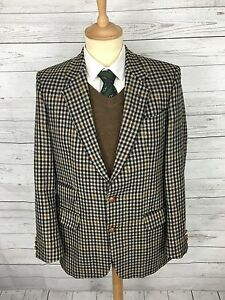 Mens Austin Reed Tweed Jacket Blazer 40r Check Great Condition Ebay
