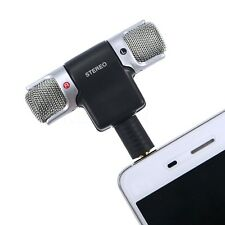 Imported 3.5mm Mini Stereo Microphone Mic -Mobile Phone Laptop Recording Small