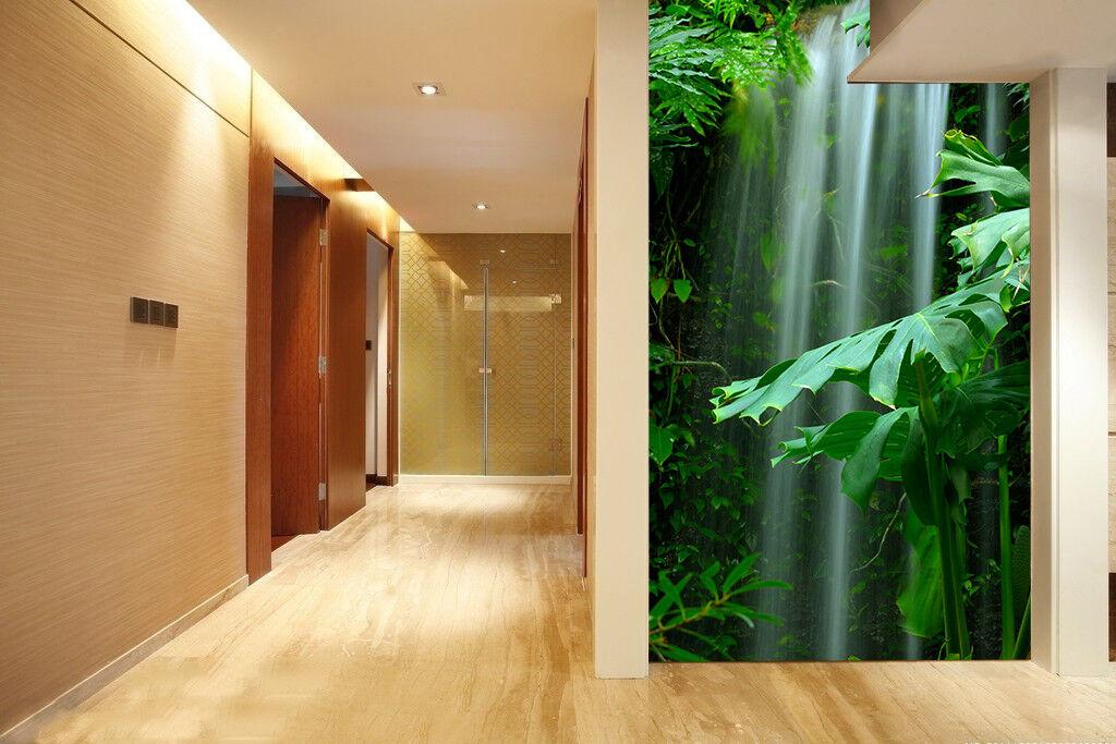 3D Waterfall Jungle 83 Wall Paper Murals Wall Print Wall Wallpaper Mural AU Kyra