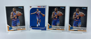 (4 Card Lot) 2019 Panini Donruss + NBA Hoops RJ Barrett Rookie Cards Knicks🔥