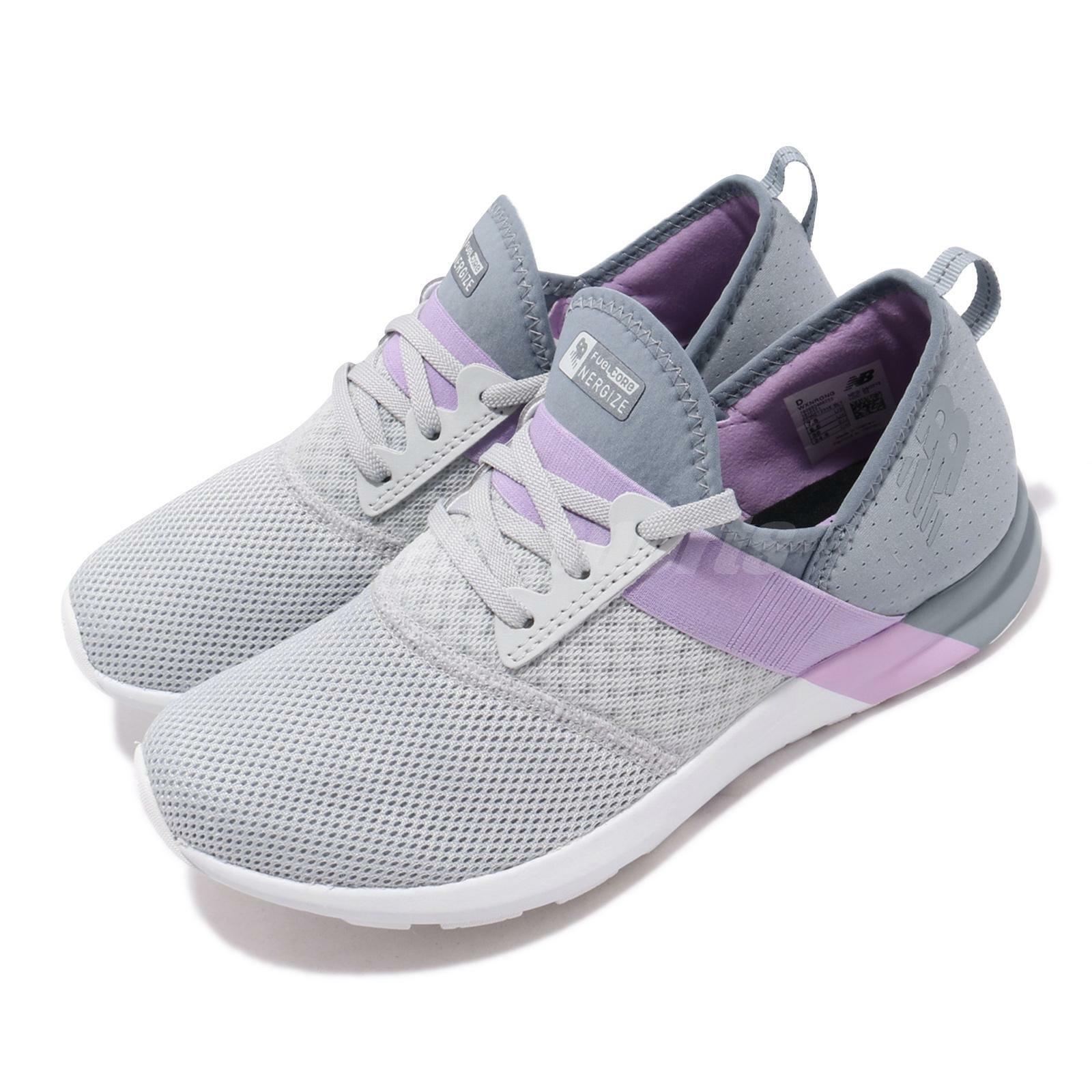 Nuovo equilibrio WXNRGG D  Donne viola larghe e grigie Scarpe scarpe da ginnastica WXNRGGD  più economico
