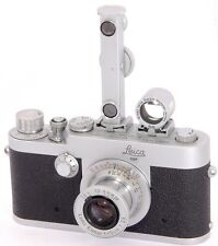 Leica Ig / 1G Made in 1957 + LEITZ Elmar 1:3.5 f=5cm + SBOOI + FOKOS Rangefinder