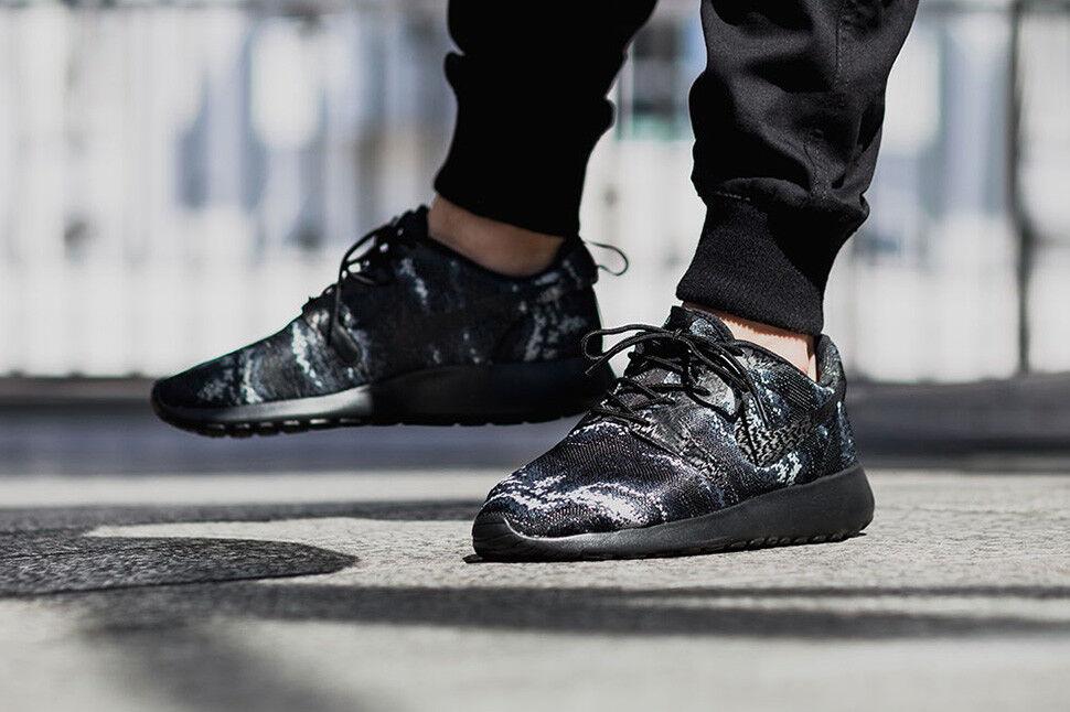 Nike Roshe Roshe Nike One Knit Jacquard Noir / Noir - Wolf Gris 99558e