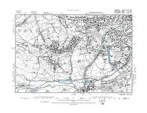 Old-Map-of-Birmingham-Harborne-Edgbaston-Staffs-in-1888-Repro-72-SE