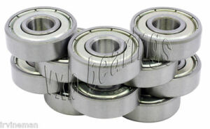 Pack-of-10-Bearing-608ZZ-8x22-mm-608Z-Metric-Ball-Bearing-VXB-Sale-Lot-Wholesale