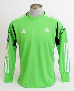 4c86acbee84 Image is loading Adidas-ClimaCool-MLS-Green-Long-Sleeve-Goalkeeper-Jersey-