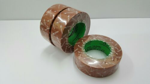 Pack3 PVC Tape Electrical Wire Insulation Roll ฺBrown 19mm Wide 10M Length