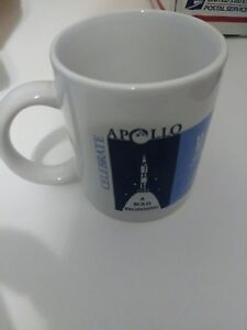 Details about Apollo A Bold Beginning Coffee Mug Marshall Space Flight  Center NASA 25 Years