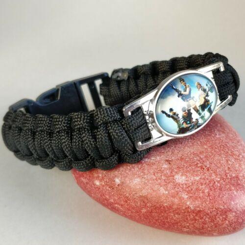 Fortnite Battle Royale Weave Bracelet Gift Wrist Band Save World Party UK SELLER