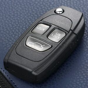 3 buttons remote flip keyless entry remote key case shell fob forimage is loading 3 buttons remote flip keyless entry remote key