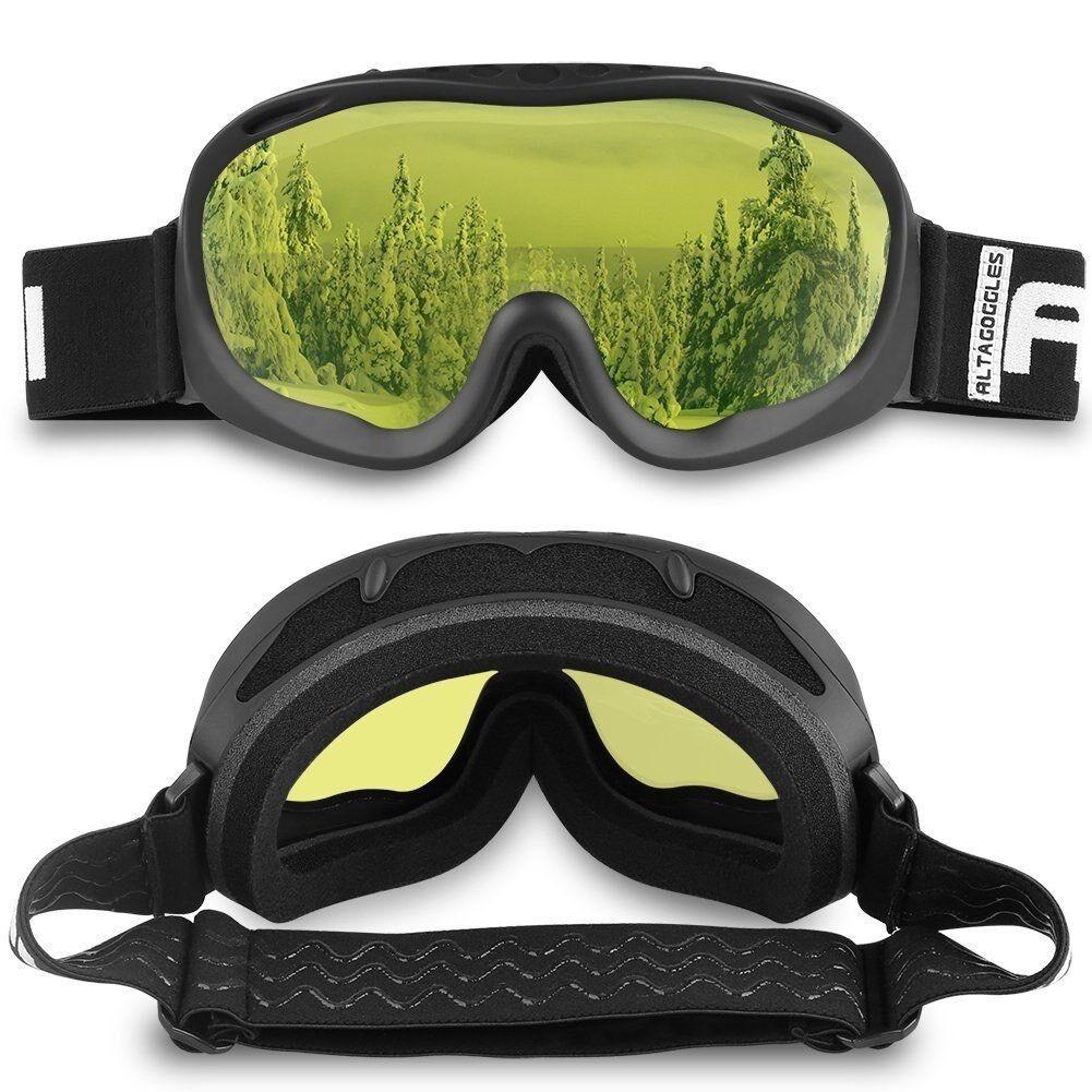 ALKAI Alta Ski Goggles, Snowboard Goggles  Anti-Fog, 100% UV Protection