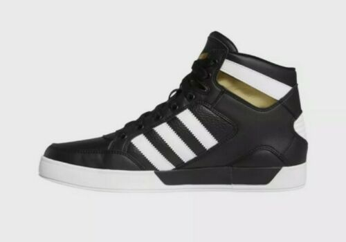 Men Adidas Originals Hardcourt Hi FV5327 Black/Whi