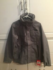 01ec30ced Details about North Face Men's Kassler Field Jacket - NWT Size Small  Heather Gray