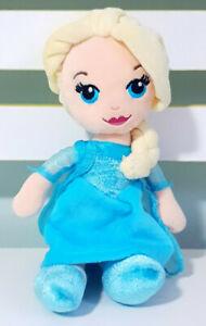 Disney-Movie-Stars-Frozen-Elsa-Plush-Toy-Children-039-s-Character-Toy-21cm-Tall
