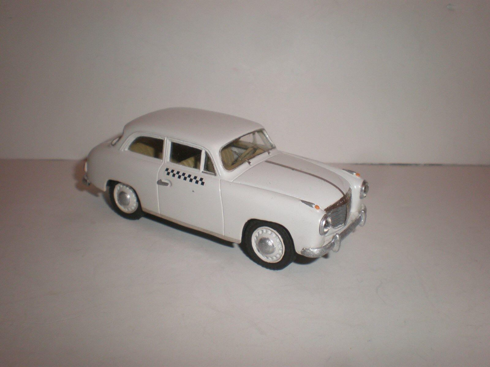 1 43 GERMAN CAR GOLIATH GP 700 TAXI 1953 Handmade