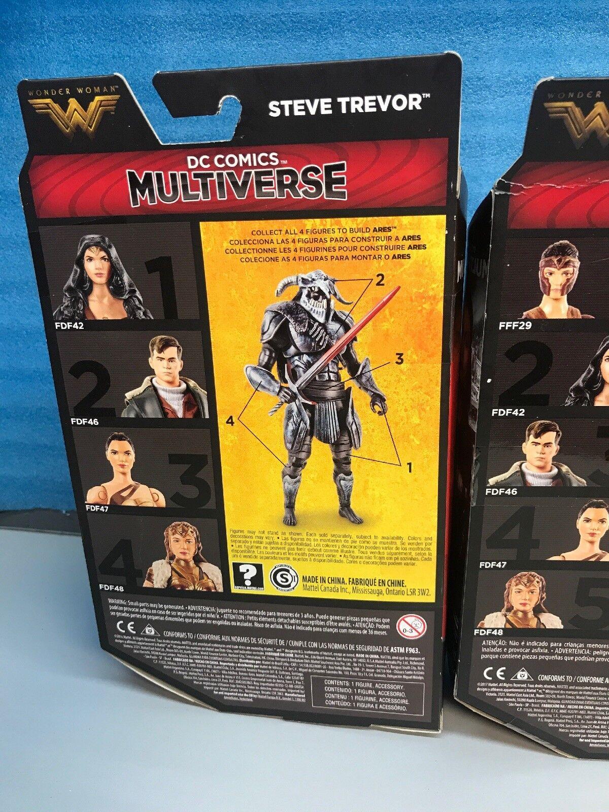 DC Multiverse Lot Of 5. WONDER WONDER WONDER WOMAN 6  Action Figure BAF ARES Set. c6fcbd