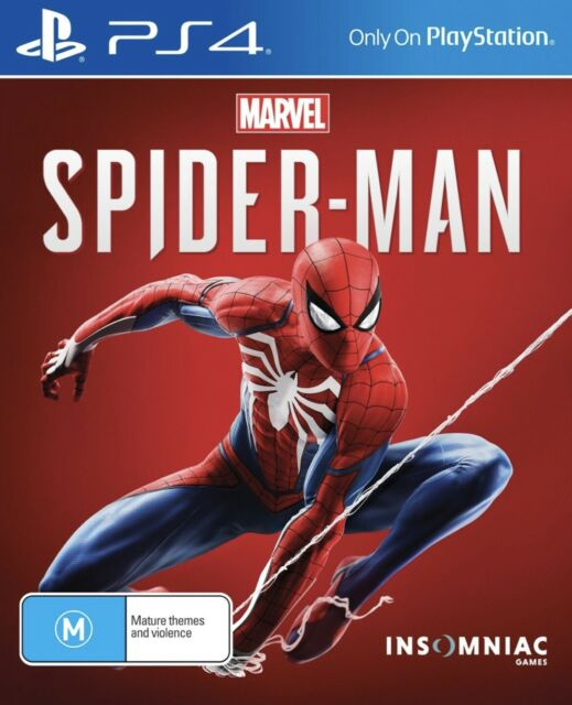 BRAND NEW & EXPRESS Marvel's Spider-Man (PlayStation 4, 2018) Game PS4
