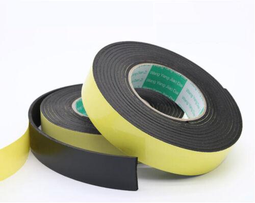 3 Rolls Eva Foam Adhesive Tape Single Sided with 20mm W 5m L 1mm T