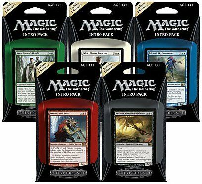 ENGLISH Magic 2013 // M13 Intro Pack Set of Five OVERSTOCK NEW MAGIC ABUGames