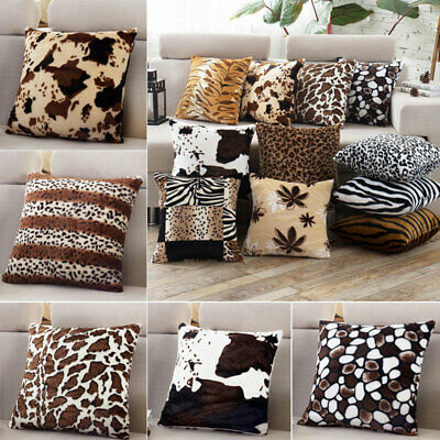 Ze Leopard Print Pillow Case Waist Throw Cushion Cover Sofa Home Decor on leopard print living room furniture, leopard chair, beauty furniture home, paisley furniture home, leopard reclining sofa, leopard print furniture and accessories, zebra furniture home, leopard print retro furniture, animal print for the home, beach furniture home,