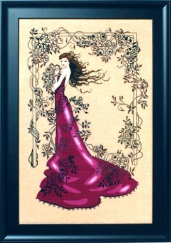 """SALE COMPLETE X STITCH MATERIALS /""""LADY OF MYSTERY/""""  MD152 by Mirabilia"""