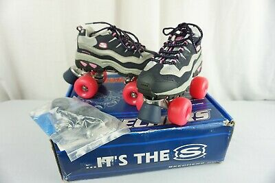 Wheelers Roller Skates Navy Hot Pink