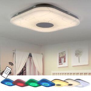 led deckenlampe12w 48w schlafzimmer deckenleuchte rgb voll dimmbar fernbedienung ebay. Black Bedroom Furniture Sets. Home Design Ideas