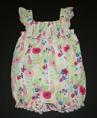 Gymboree Baby Girls Meow /& Roar Romper Summer Outfit Size 12-18 18-24 months NWT