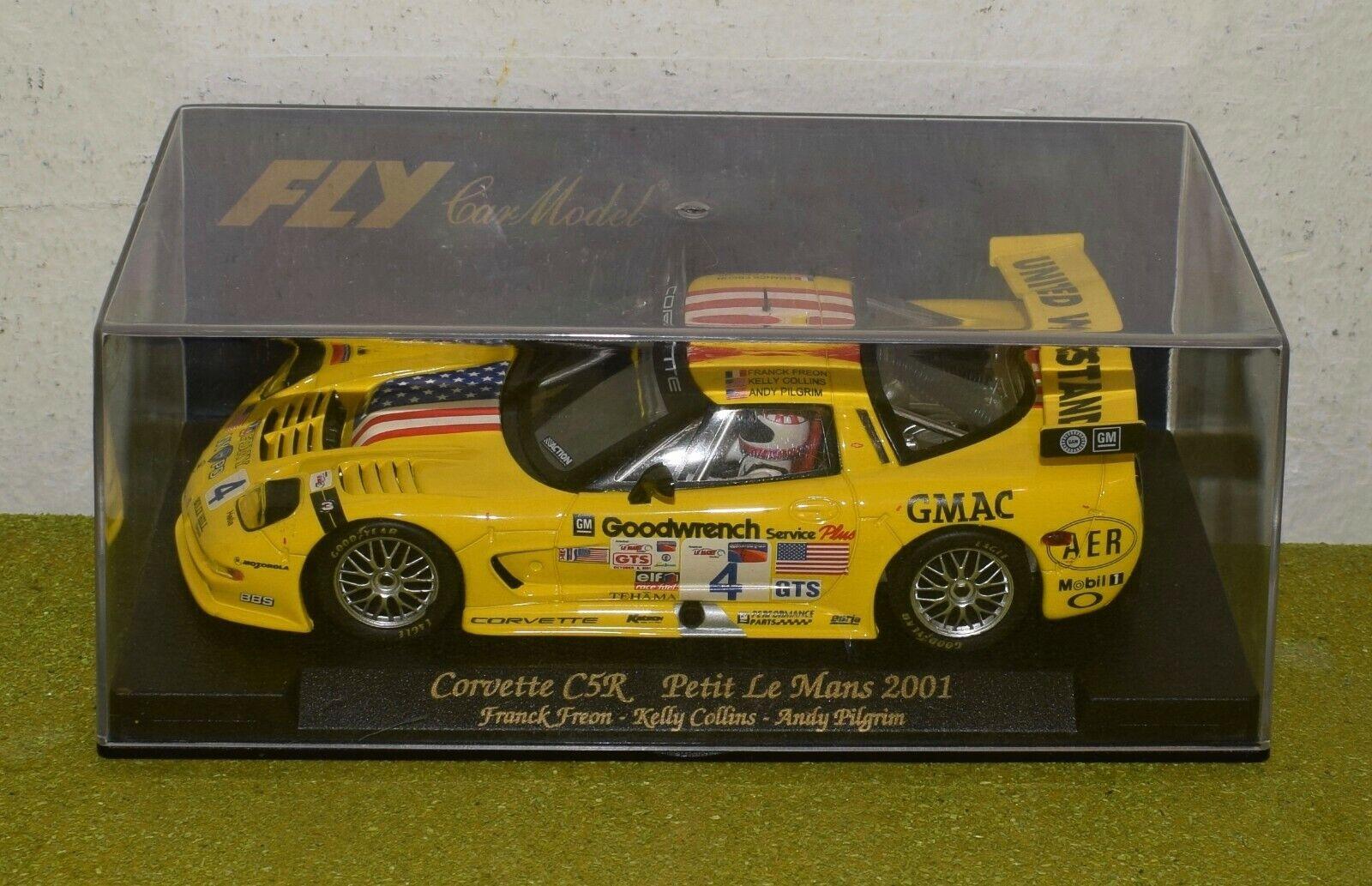 FLY REF A125 CORVETTE C5R PETIT LE MANS 2001 SLOT CAR