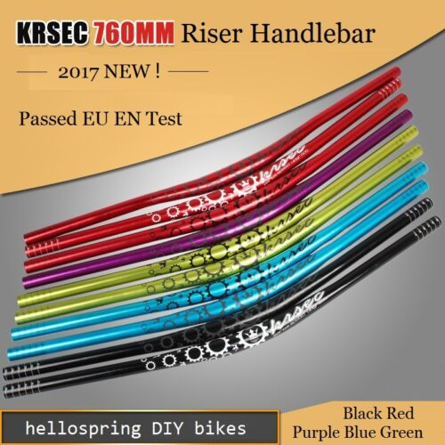 MTB Mountain XC Road Bike Bicycle Riser Bar Handlebar 31.8*760mm Reflecting logo
